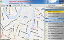 Schermata del SITI - Link al Geoportale